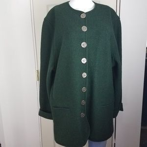 Litza Bavarian Country Germany Wool Jacket 42 EUR